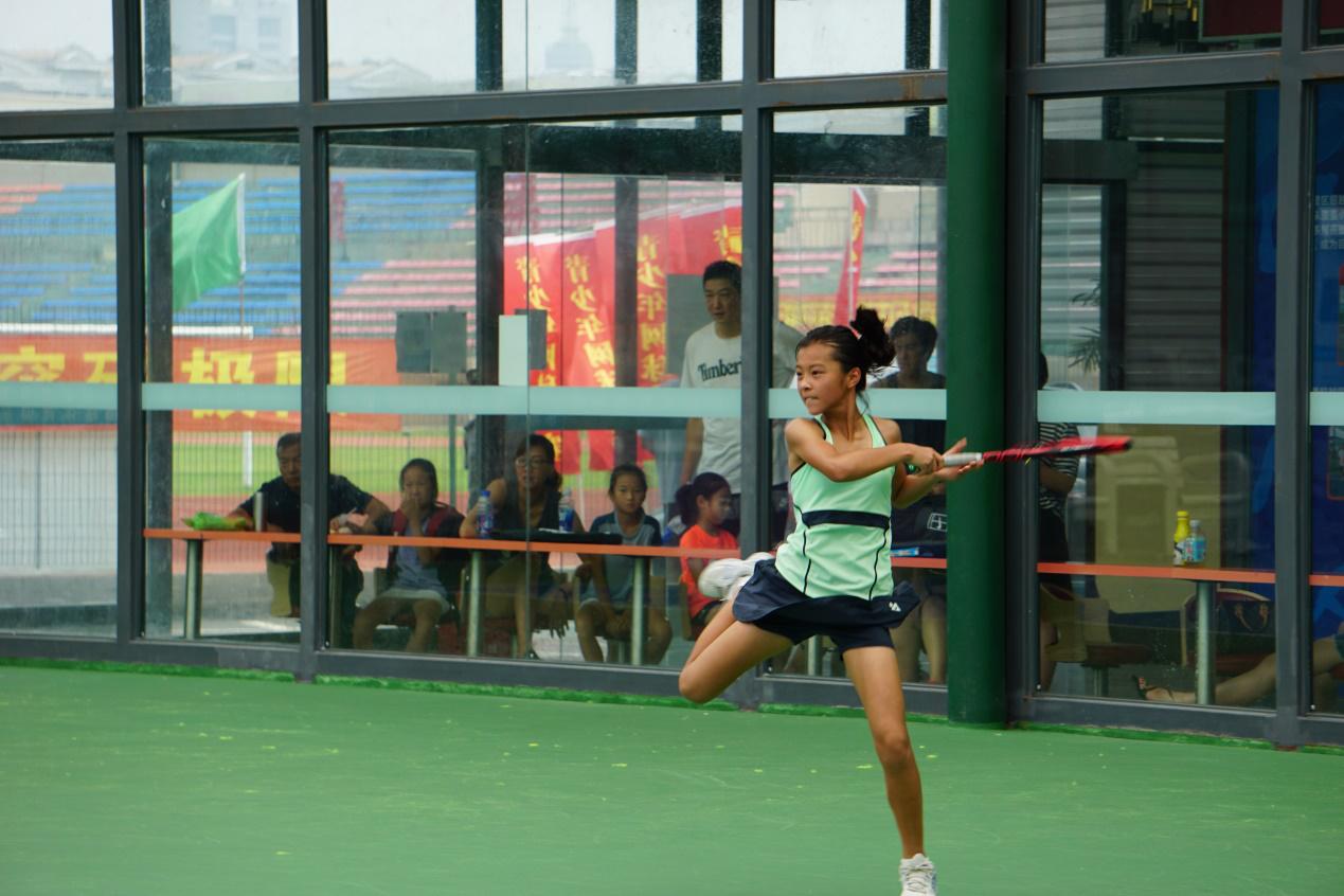 2018年上海市网球冠军赛暨青少年体育十项系列赛网球第三战火热进行中