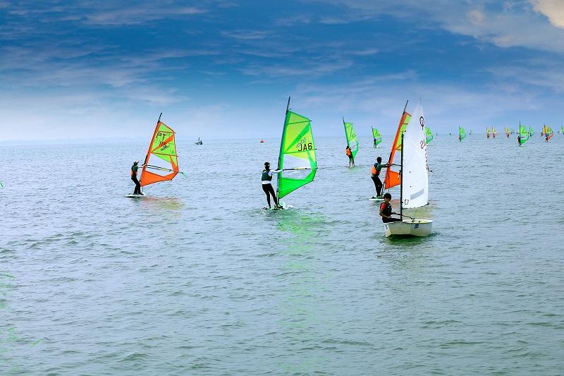 上海市第十六届运动会帆船比赛