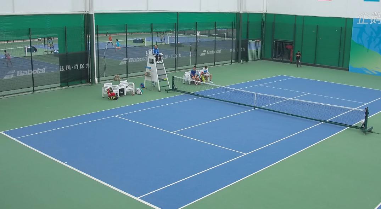 上海市第十六届运动会青少年组网球比赛