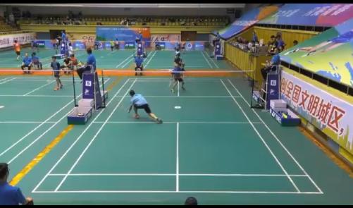 上海市第十六届运动会羽毛球比赛(青少年组)