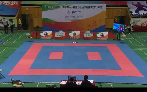 上海市第十六届运动会空手道比赛(青少年组)