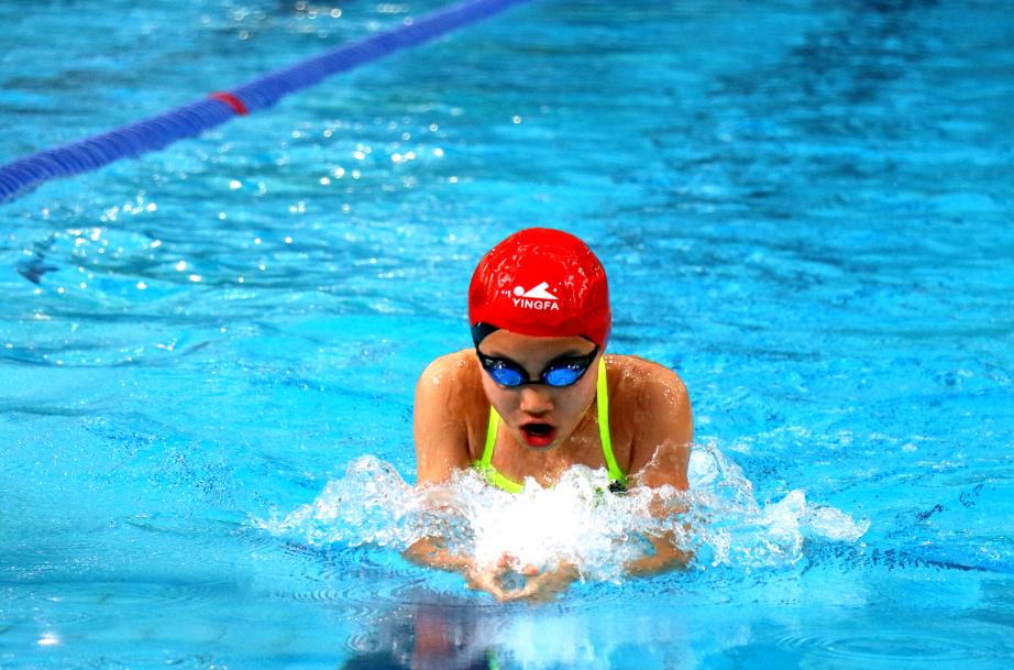 游泳、学习两开花 徐汇这个游泳小将堪称真榜样!