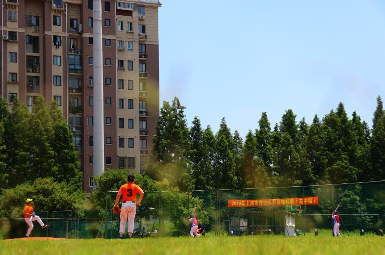 """""""三军会师""""闵行胜   2019上海市青少年棒球锦标赛(高中组)顺利完赛"""