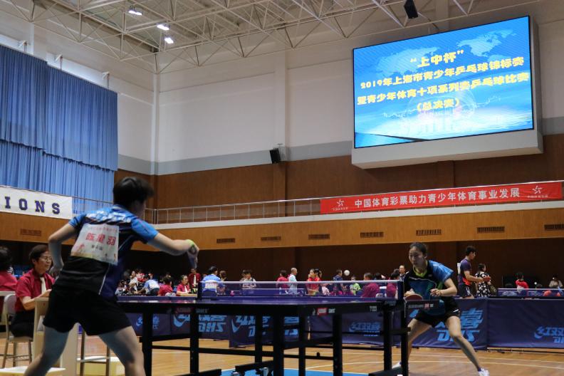 2019年上海市青少年乒乓球锦标赛暨青少年体育十项系列赛乒乓球比赛(总决赛)顺利落幕!
