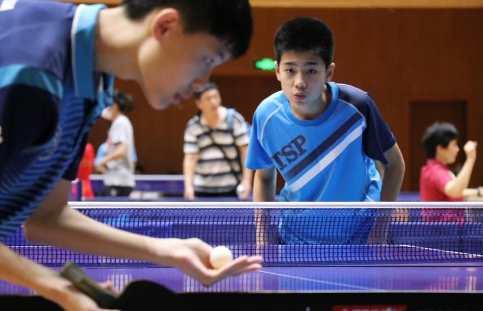 """""""乒""""尽全力,少年归来!2020年上海市青少年乒乓球锦标赛顺利举办"""
