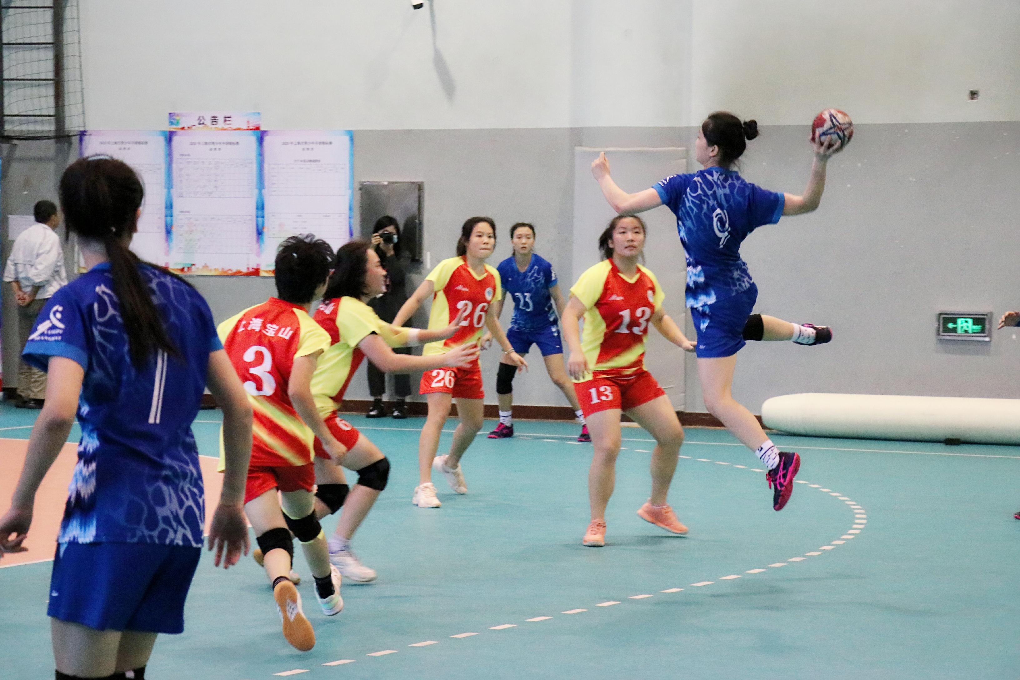 沪上手球战火重燃,复旦实验获2020年上海市青少年手球锦标赛女子A组冠军
