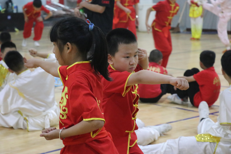 习武习德育人才,俱乐部联赛为上海武术小将暑期生活添光彩
