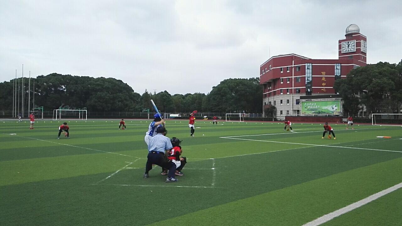 2016年上海市学生运动会垒球比赛