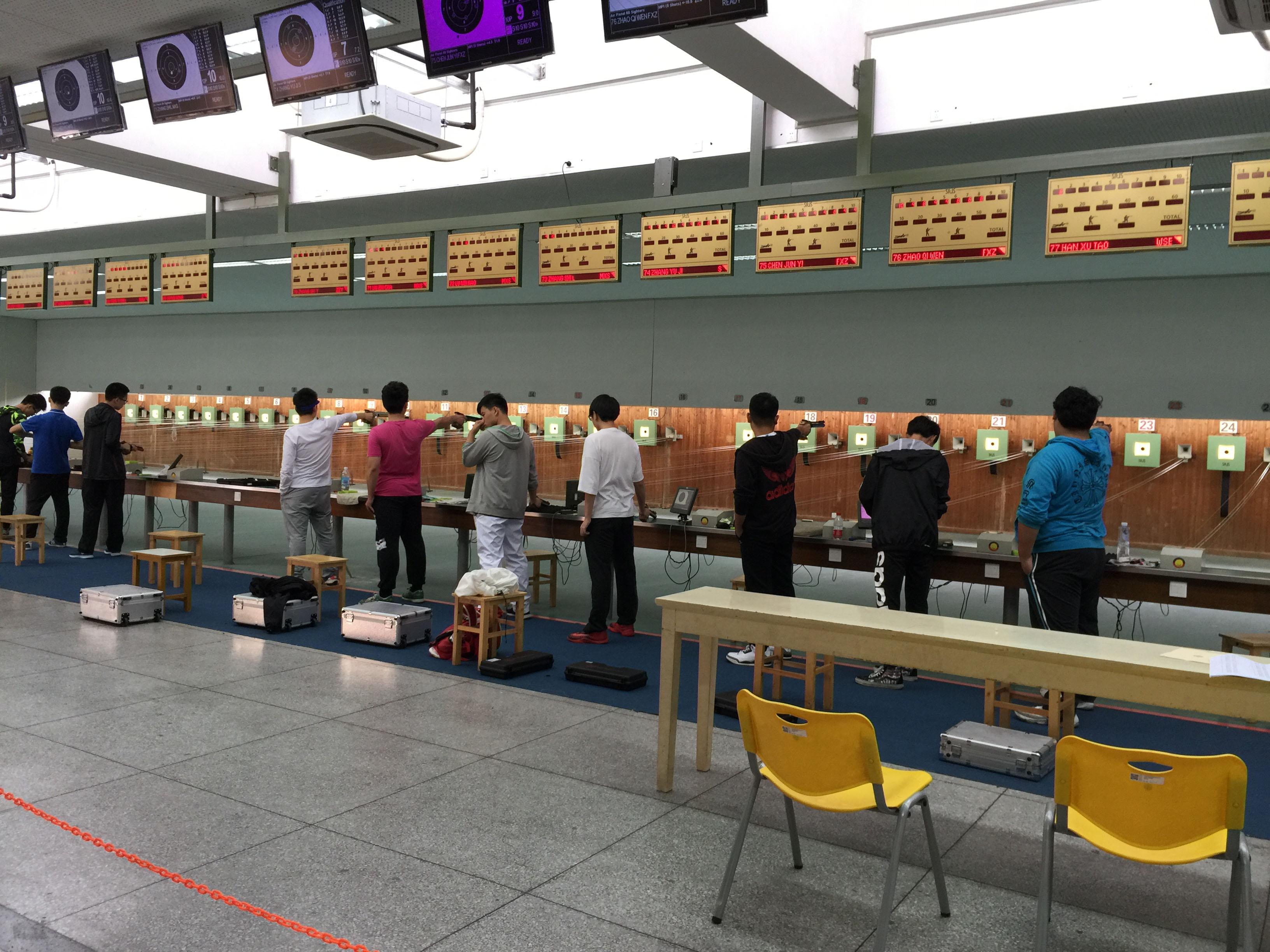 2016年上海市学生运动会射击比赛