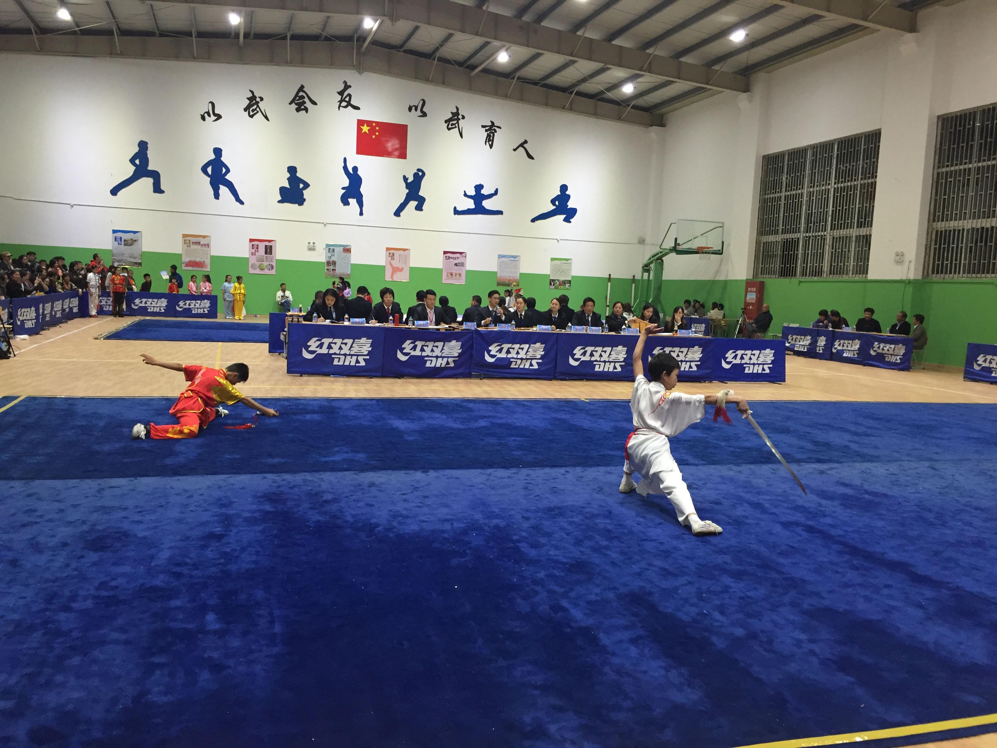 2016年上海市学生运动会武术比赛暨中小学武术套路锦标赛