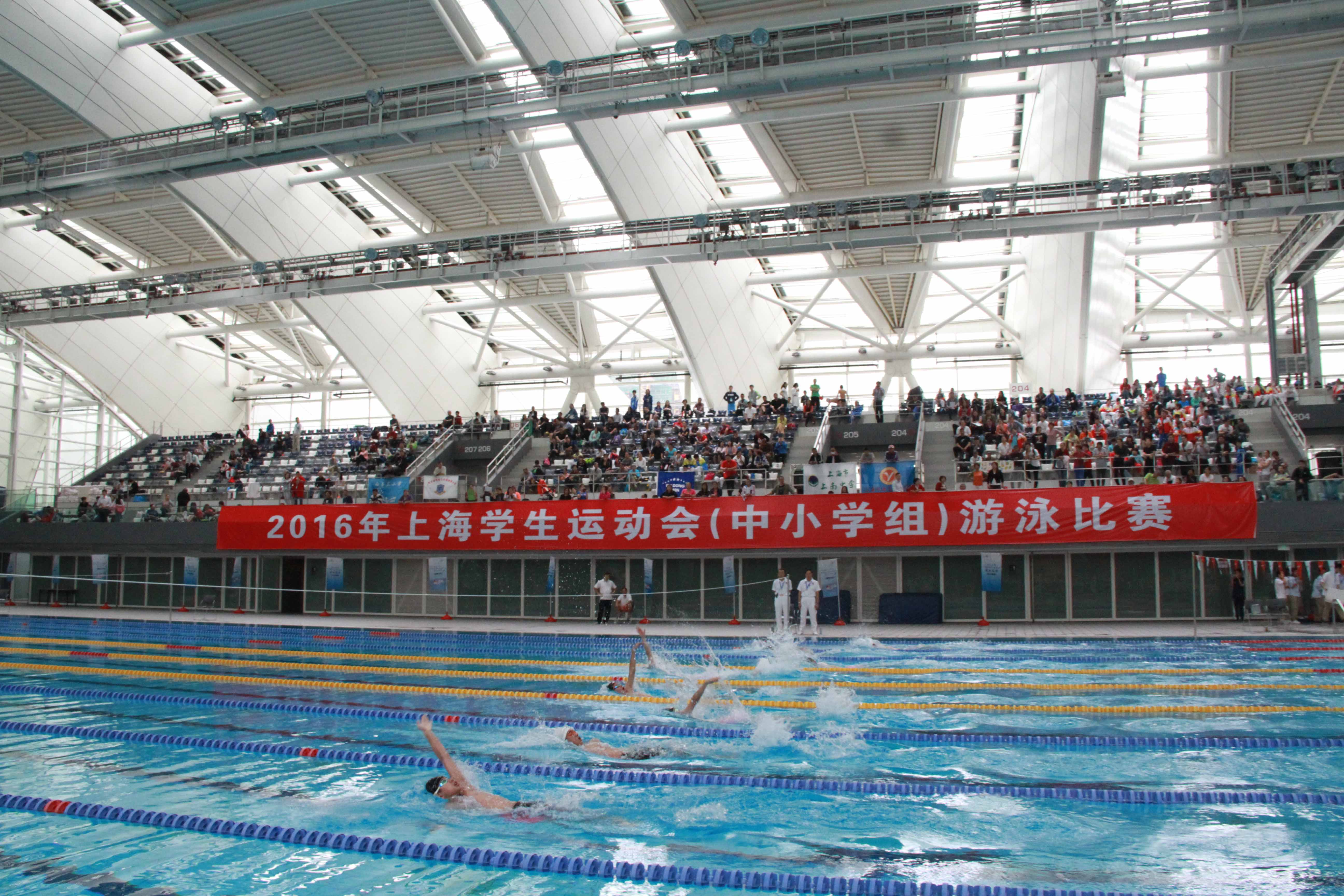 2016年上海市学生运动会游泳比赛