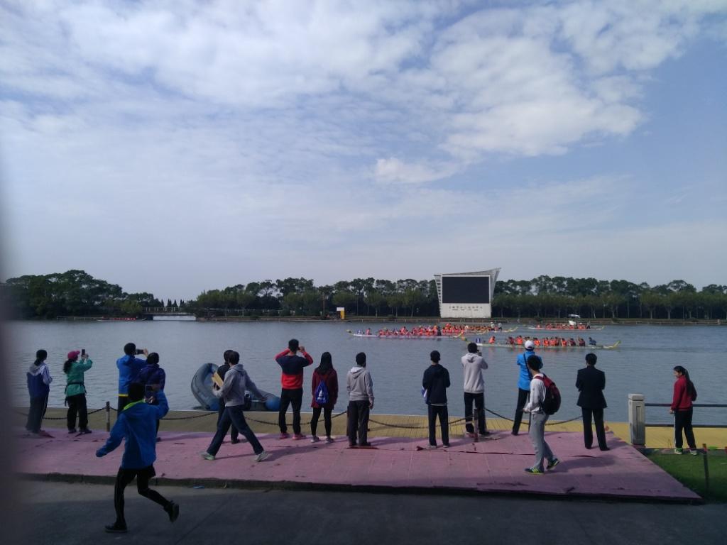 2016年上海市学生运动会龙舟比赛